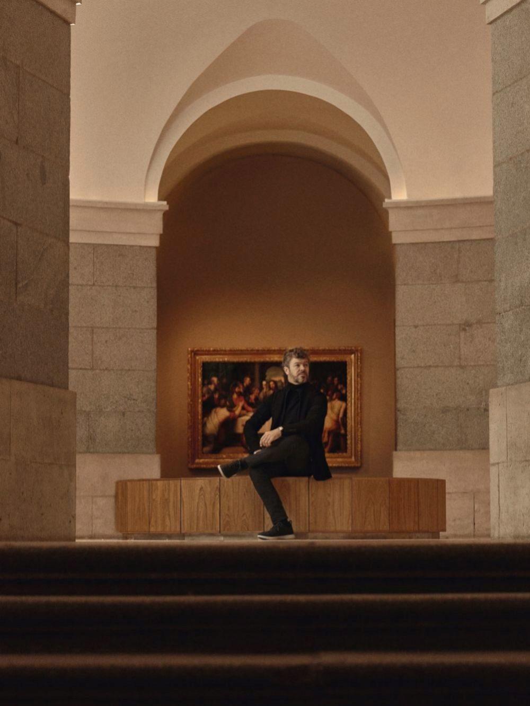 El director de orquesta Pablo Heras Casado en el Museo del Prado