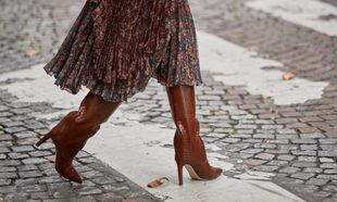 ¿Cómo llevar las botas altas?