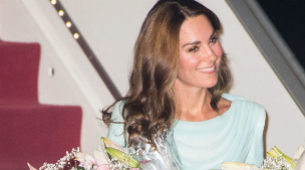 Kate Middleton en Pakistán.