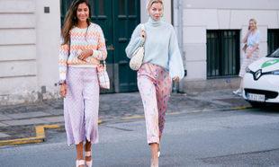 En la semana de la moda de Copenhague hemos visto mucho violeta
