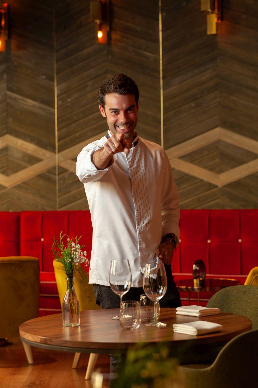 El chef Javier Aranda