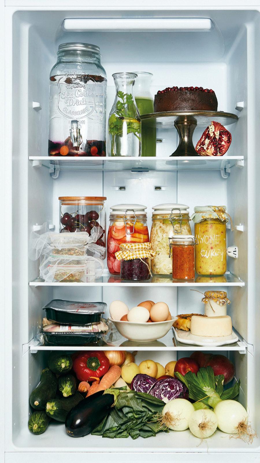 Aprovecha los alimentos que tienes en tu nevera.