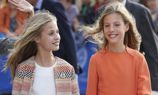La princesa Leonor y la infanta Sofía acaparan el protagonismo en la...