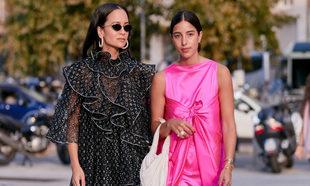 En Milán hemos visto algún que otro vestido de plumeti