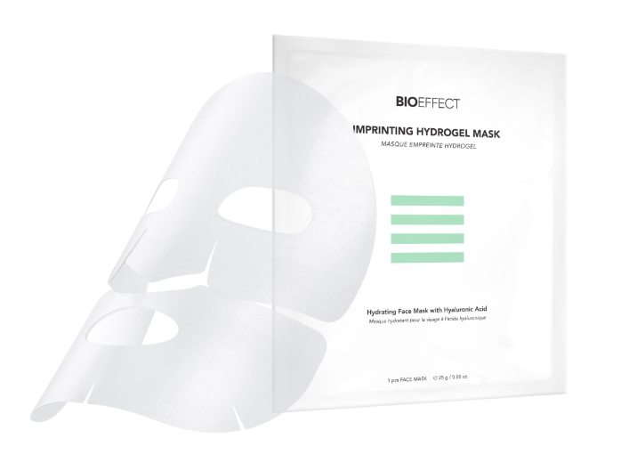 Imprinting Hydrogel Mask, Bioeffect