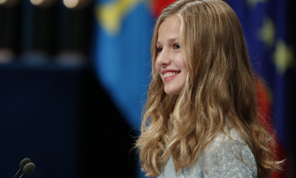 La princesa Leonor en su primer discurso de los premios Princesa de...
