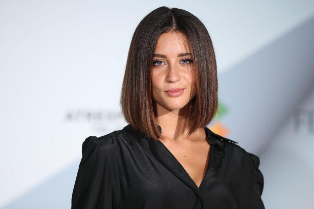 María Pedraza, una de las actrices que no falla con su maquillaje.