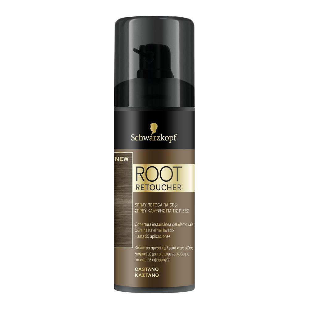 Spray que disimula las raíces Root Retoucher de Schwarzkopf.