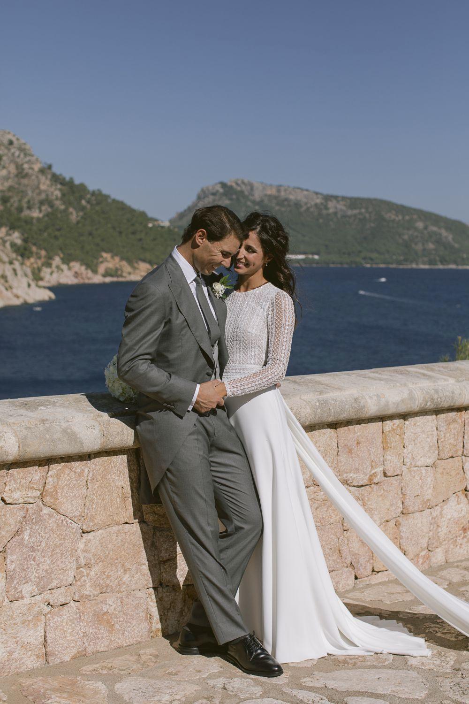 Rafa Nadal y Mery Perelló comparten las románticas fotos de su boda