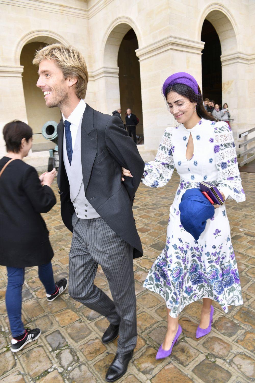 Alessandra de Osma, la invitada más elegante en la boda del heredero...
