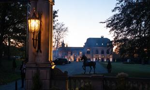 Castillo de Belcourt en Newport (Rhode Island) donde tuvo lugar la...