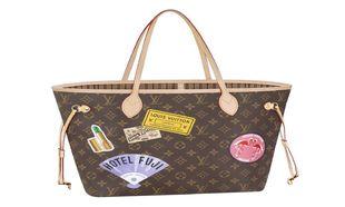 Bolso Neverfull de Louis Vuitton personalizado a través de My LV...