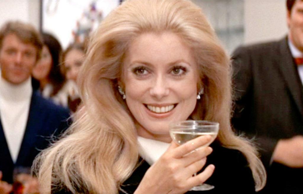 Catherine Deneuve en Locos de abril, 1969.