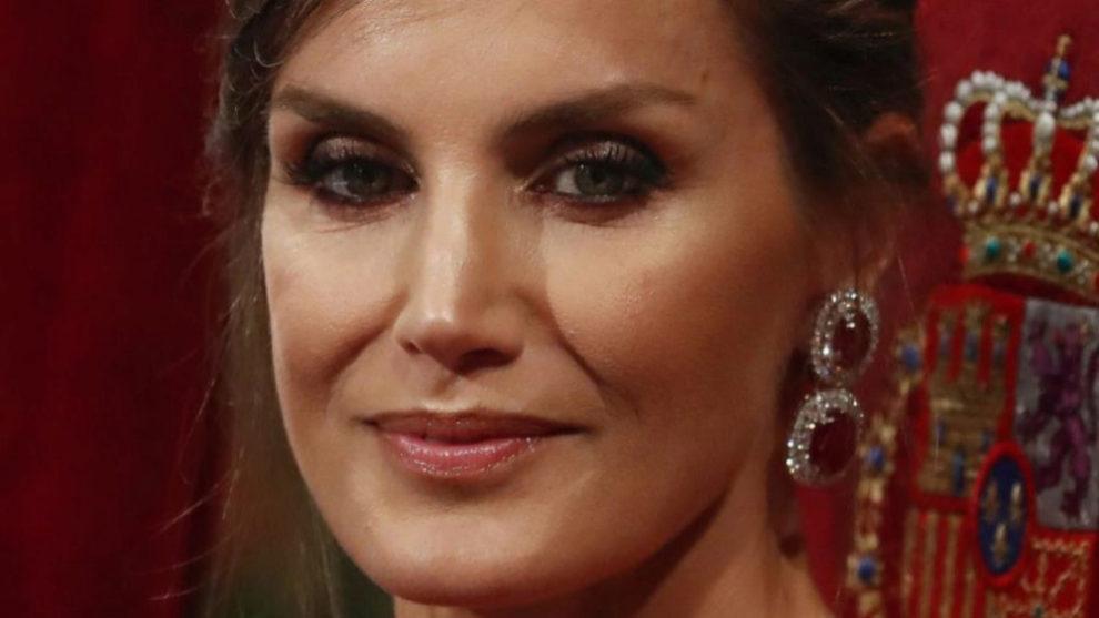 La Reina Letizia en la ceremonia de entrega de los Premios Princesa de...