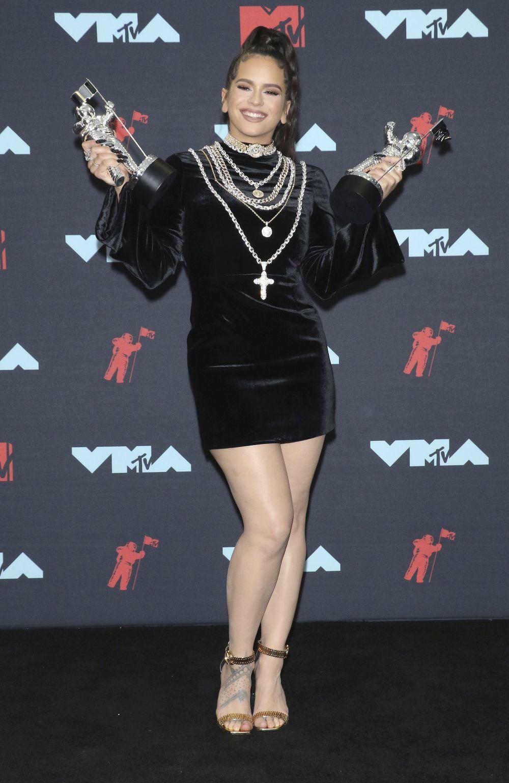 Rosalía, primera española en ganar dos premios MTV