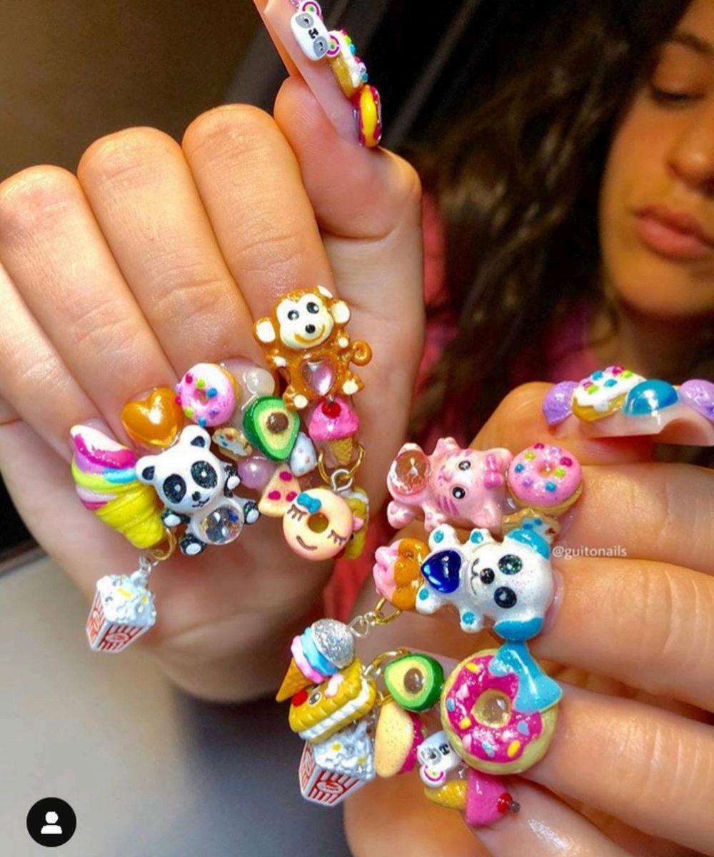 Las uñas de Rosalía