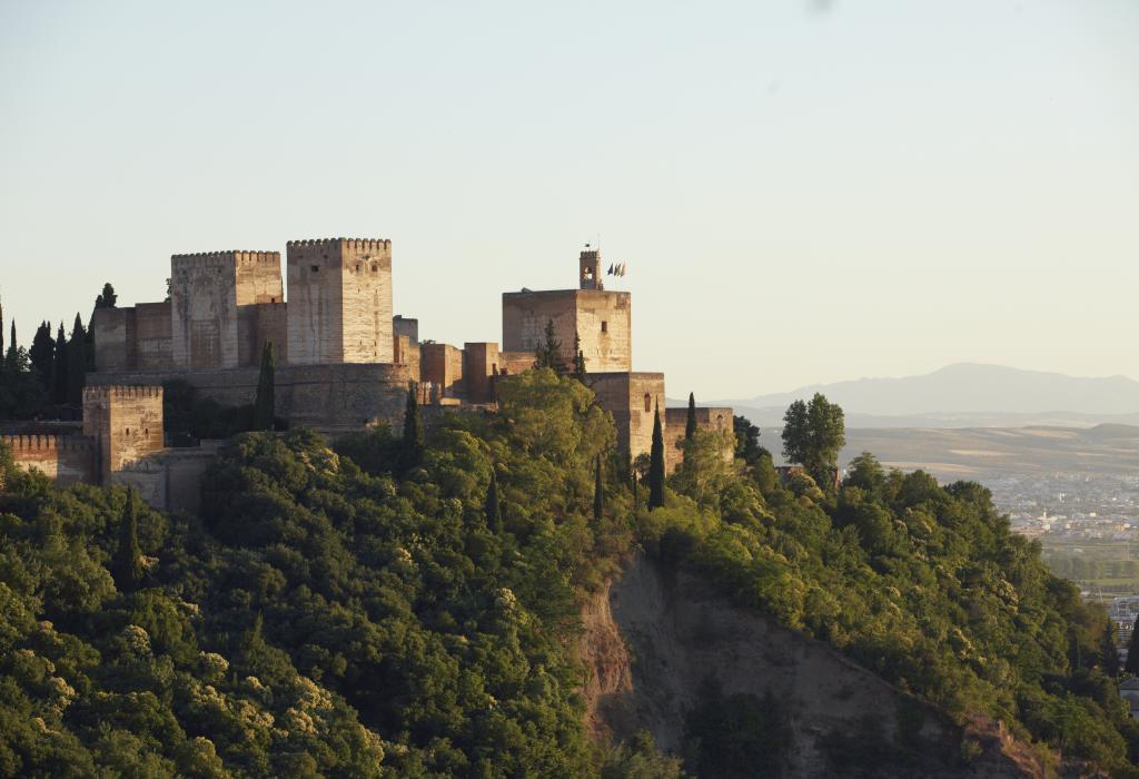 La Alhambra y los jardines del Generalife en Granada