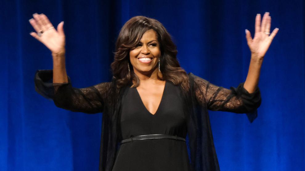 Michelle Obama nos ha dejado boquiabiertas con sus abdominales de...
