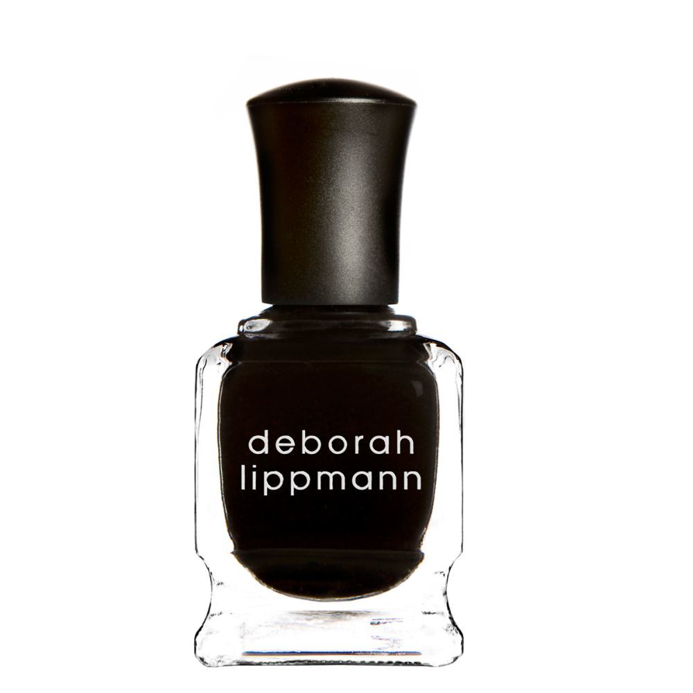 Esmalte de uñas Fade to Black de Deborah Lippmann con biotina, té...