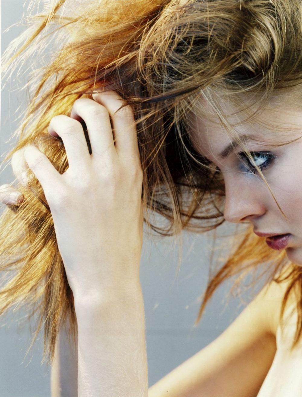 La salud de nuestro cabello también depende de la alimentación.