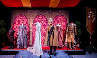 Trajes utilizados en la boda de Margaery Tyrell con Joffrey Baratheon.