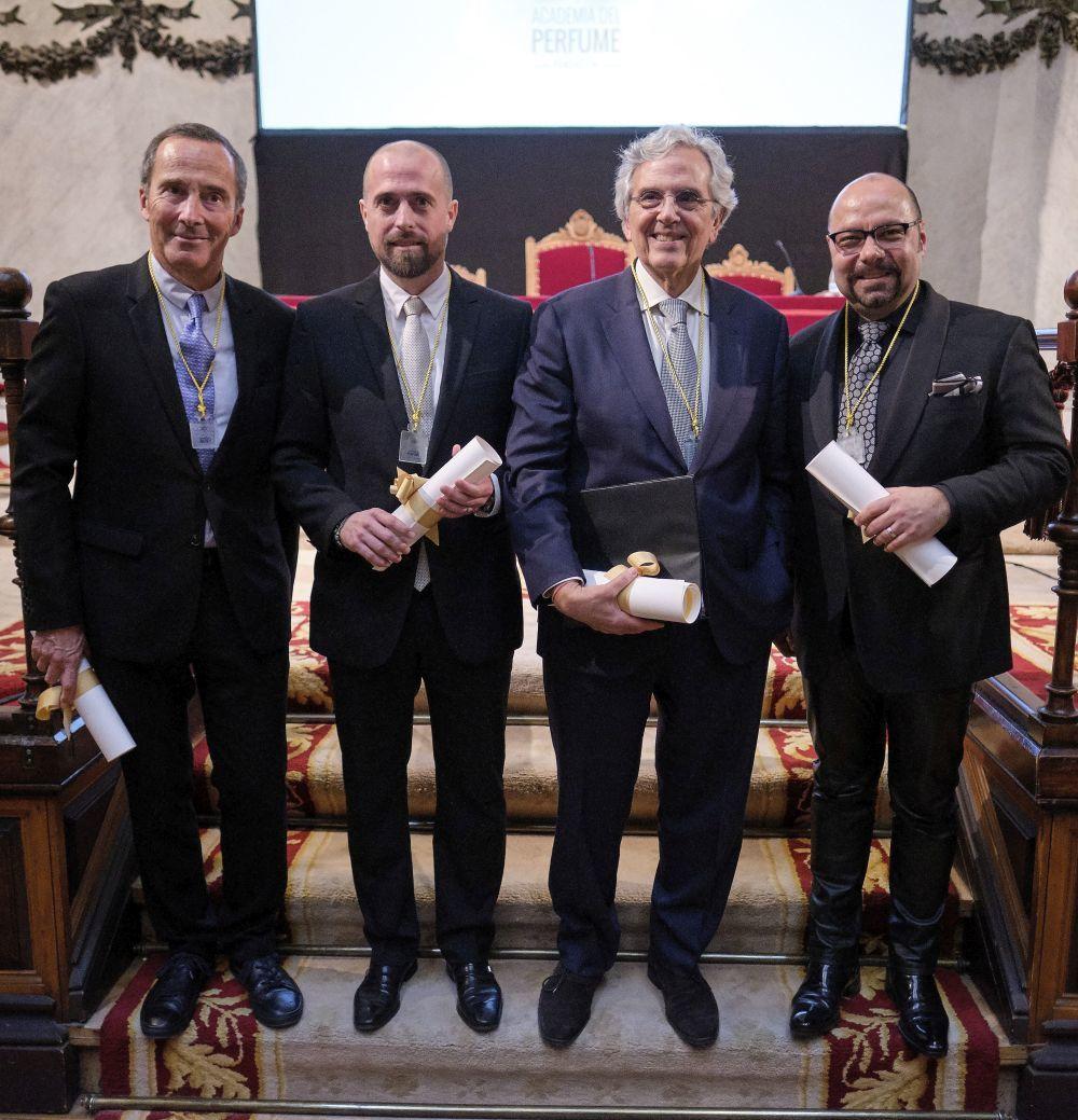 De izda a dcha: Olivier Cresp, Jordi Fernández, Carlos Benaim y...
