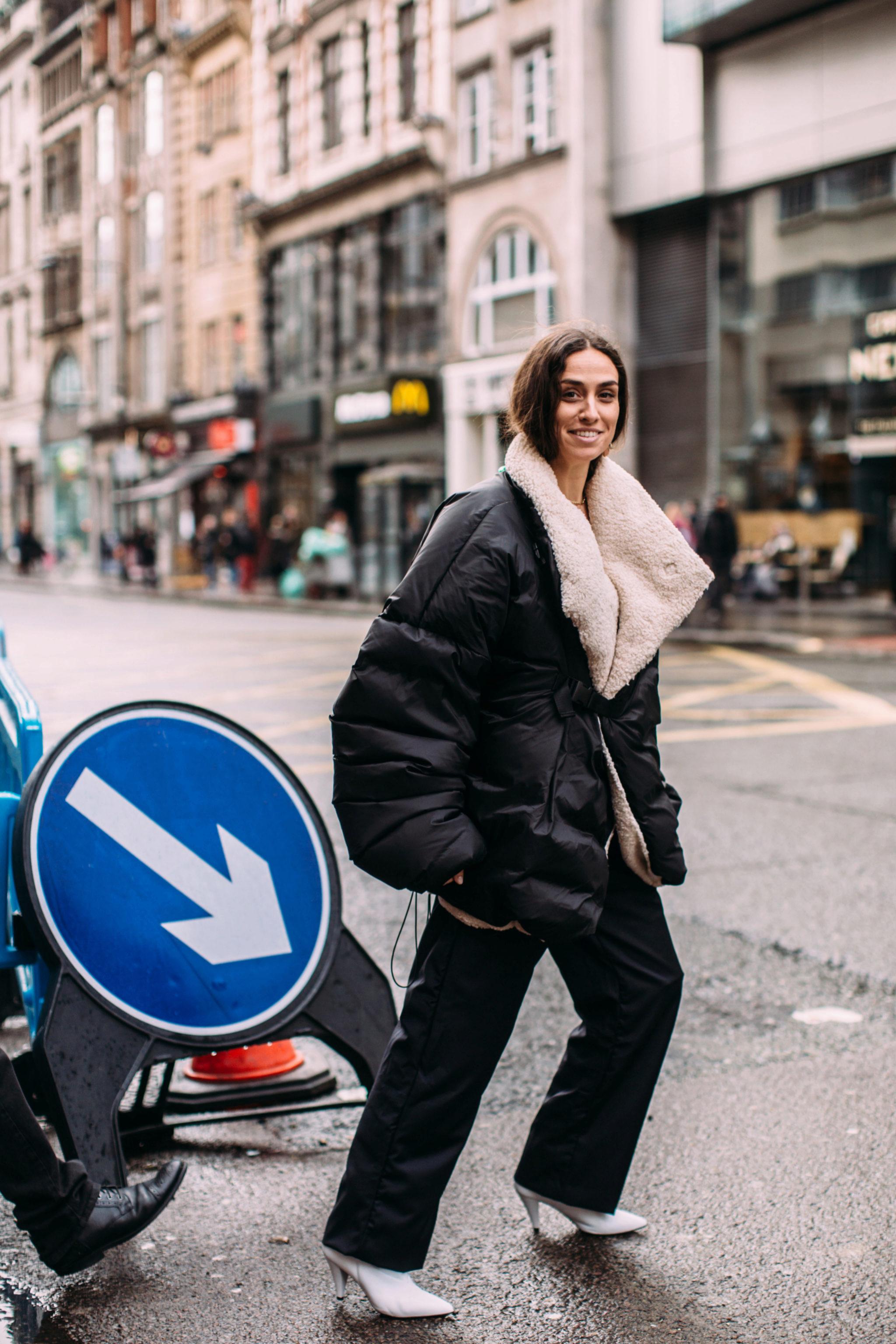 Un chaquetón acolchado puede tener mucho estilo
