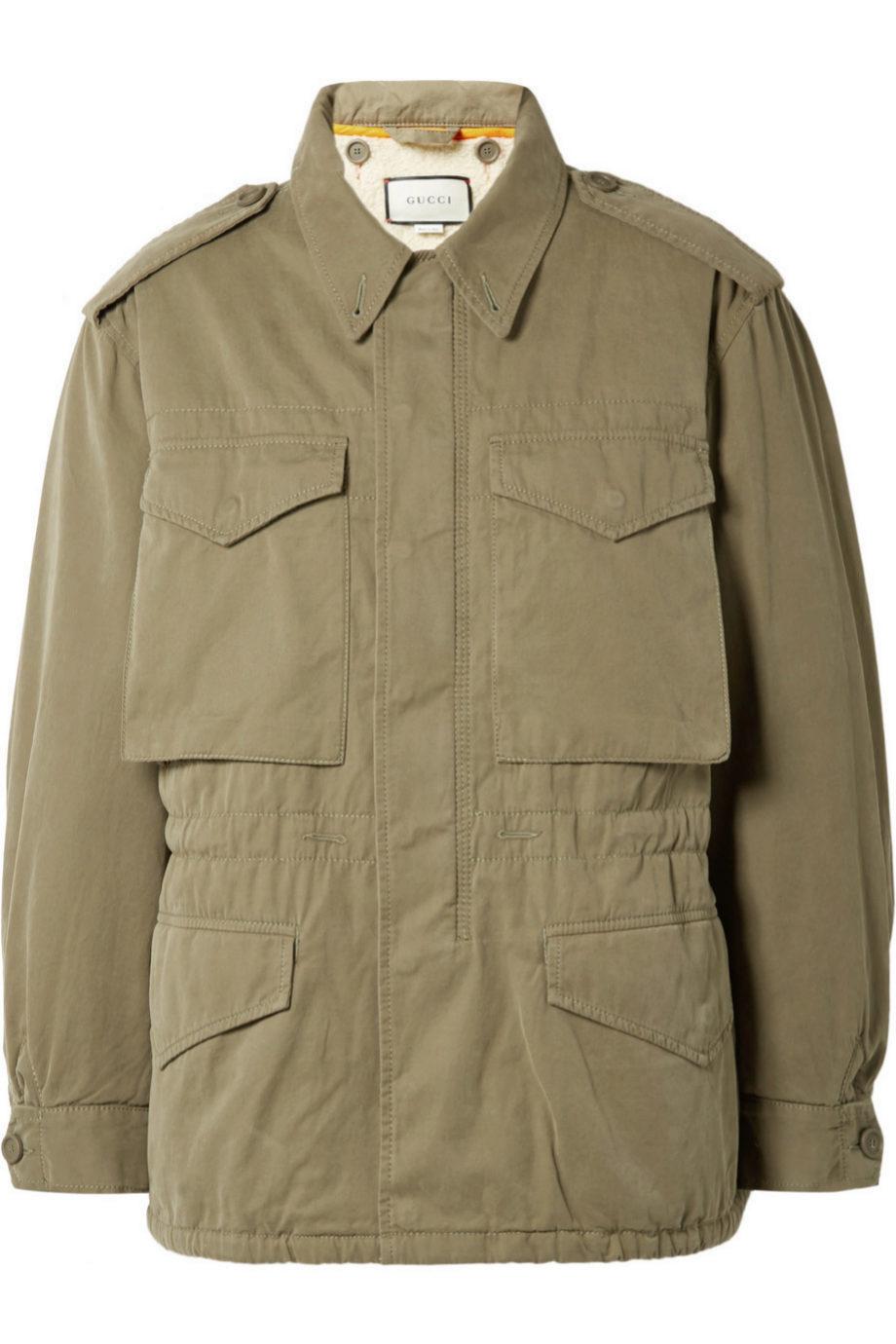 Chaqueta militar de Gucci