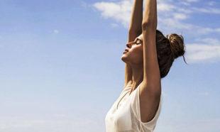 Hay técnicas de respiración que nos ayudan a ser felices.