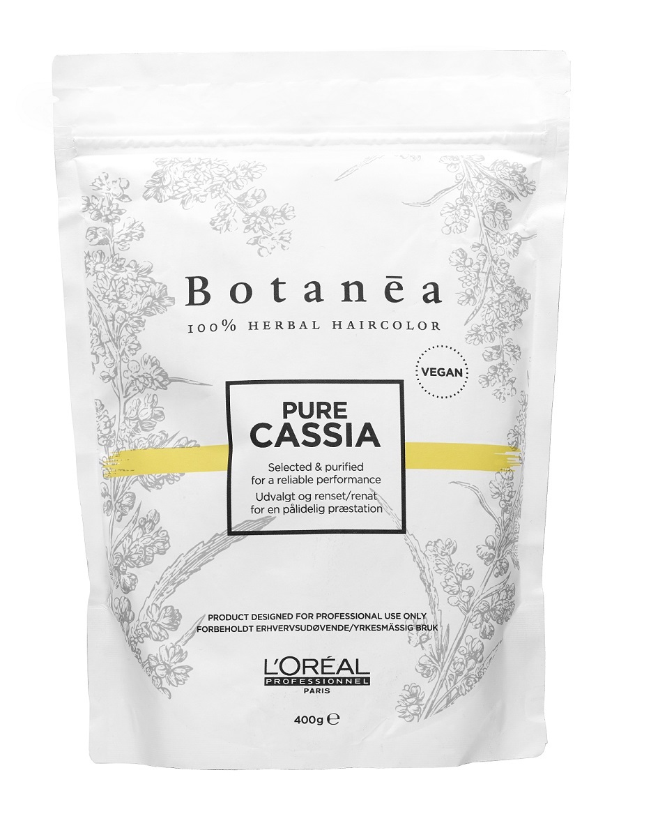 Botanea de LOréal Professionel, es una coloración 100% herbal y vegana que contiene tres plantas procedentes de la India: henna, índigo y cassia, recubiertas con aceite de coco 100% de origen natural. De aplicación exclusiva en peluquerías.