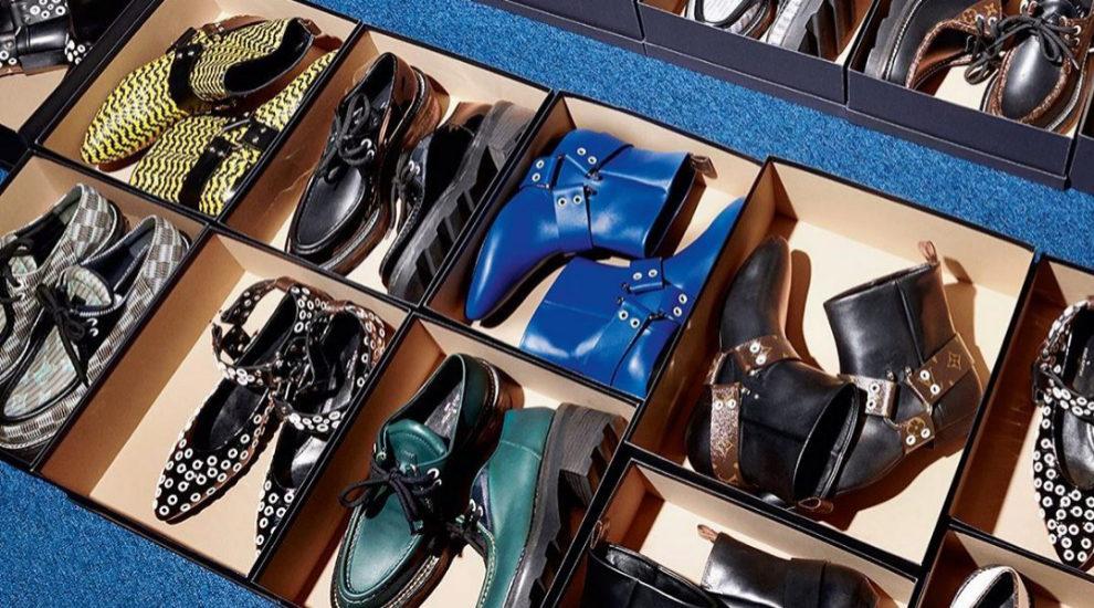 Algunos de los zapatos de esta temporada de Louis Vuitton