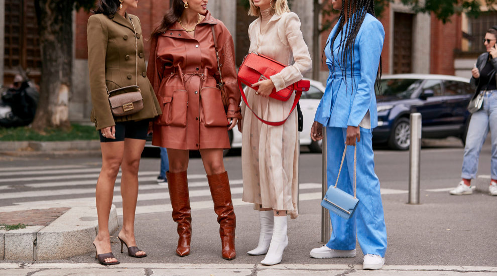 Zapatos por las calles de Nueva York
