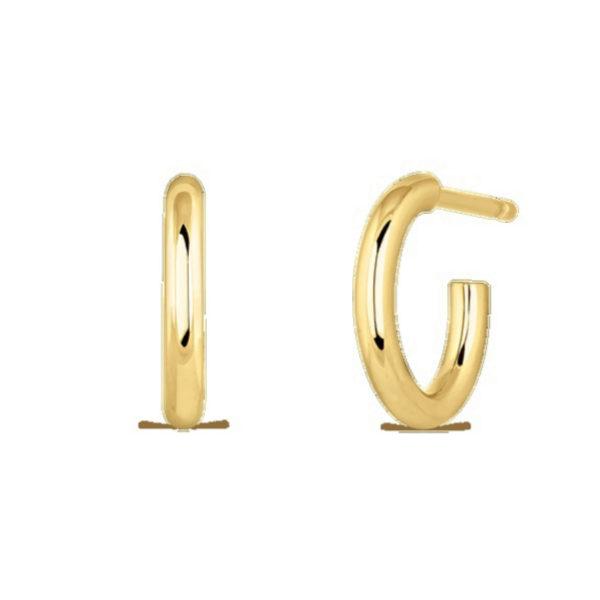 Pendientes de oro amarillo de 18 quilates de la colección Idalia de...