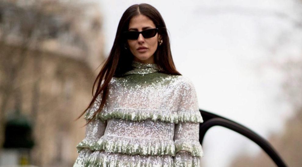Un vestido de hilo metalizado es todo lo que necesitas para triunfar...
