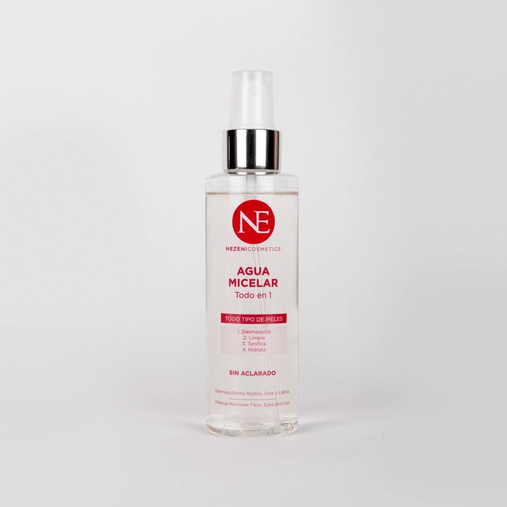 Agua micelar todo en uno de Nezeni Cosmetics.