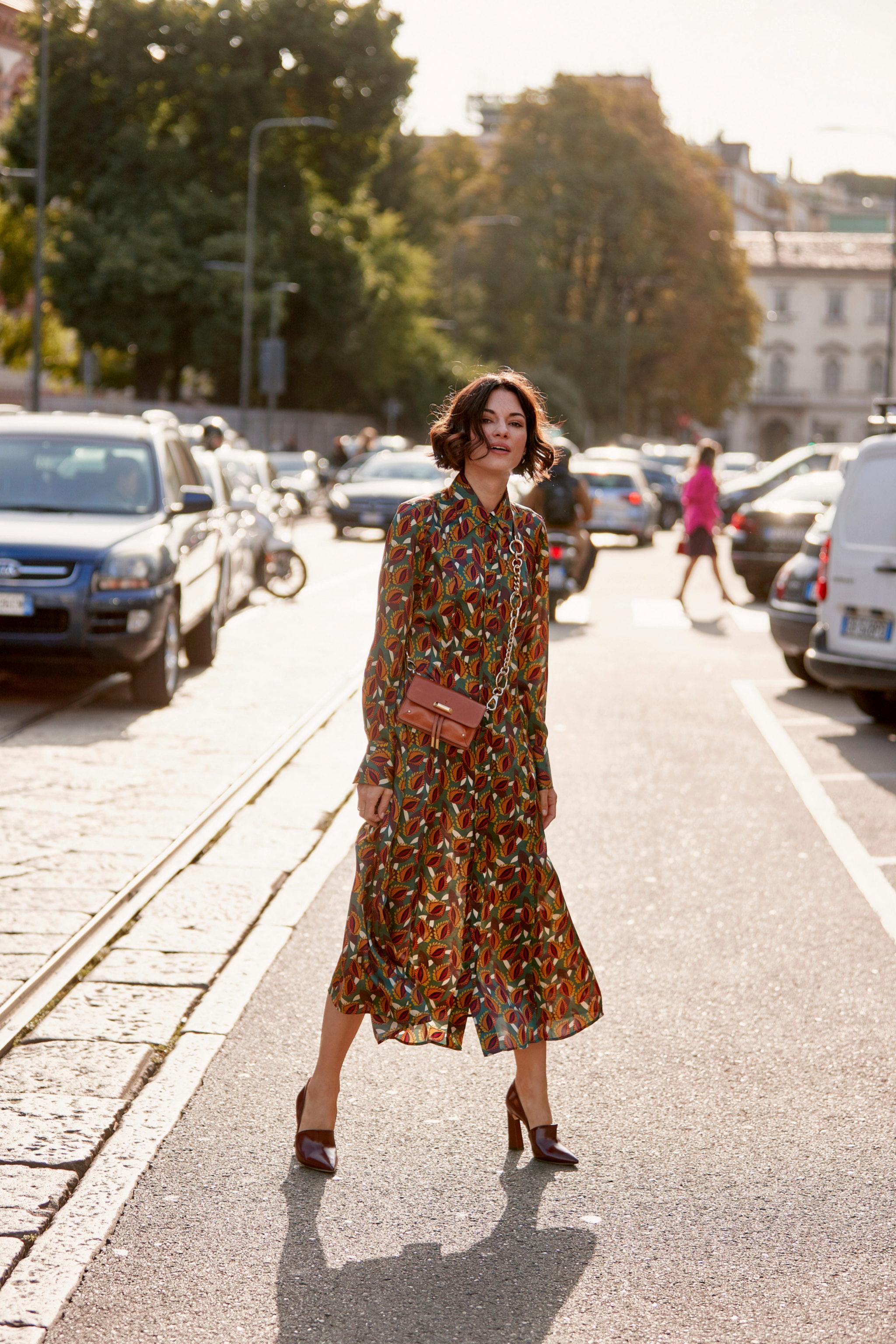 Algunos de los vestidos de flores que hemos visto en el street style