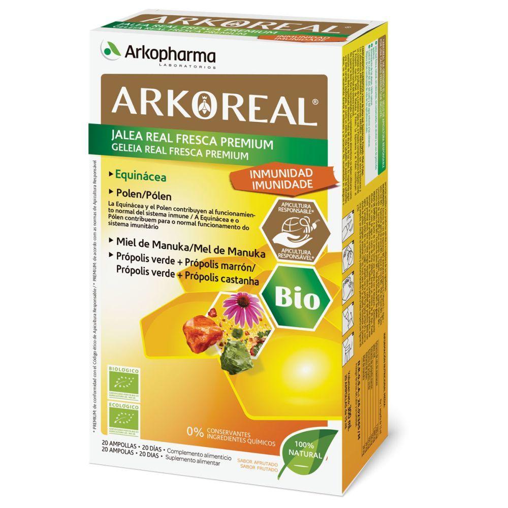 Ampollas Arko Real Inmunidad de Arkopharma.