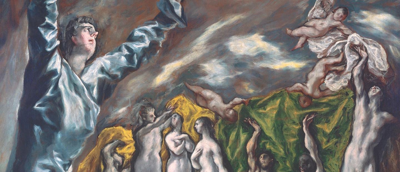 La apertura del Quinto Sello del Apocalipsis, de El Greco, es una de las obras principales de la exposición del Grand Palais.