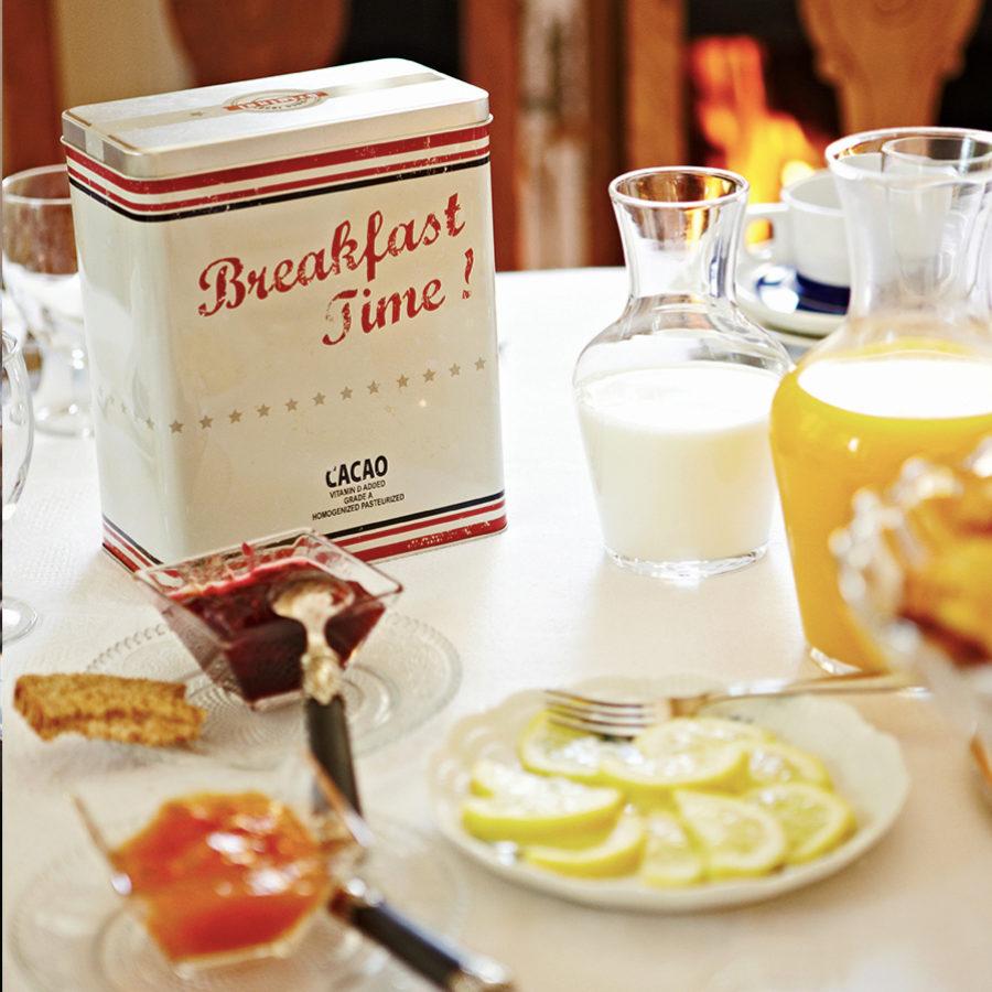 Los desayunos de casa suelen ser más saludables que los de las...