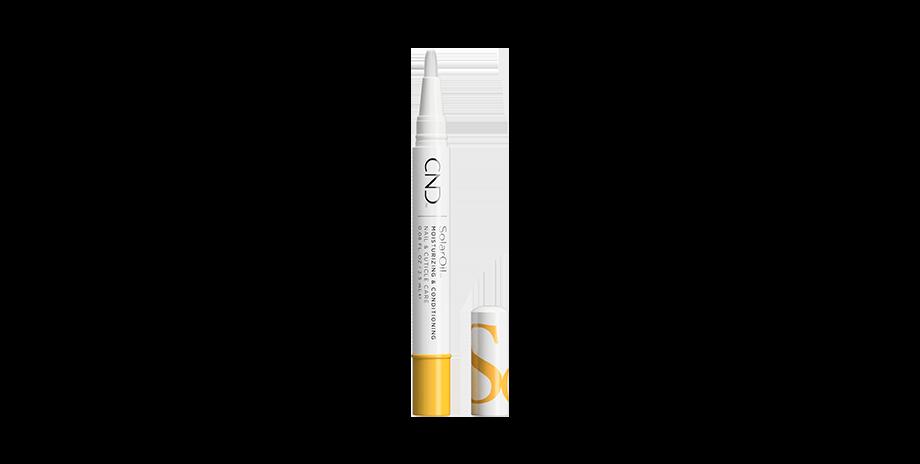 Aceite de tratamiento para uñas y cutículas Solar Oil, de CND (14,90 euros). En formato lápiz.