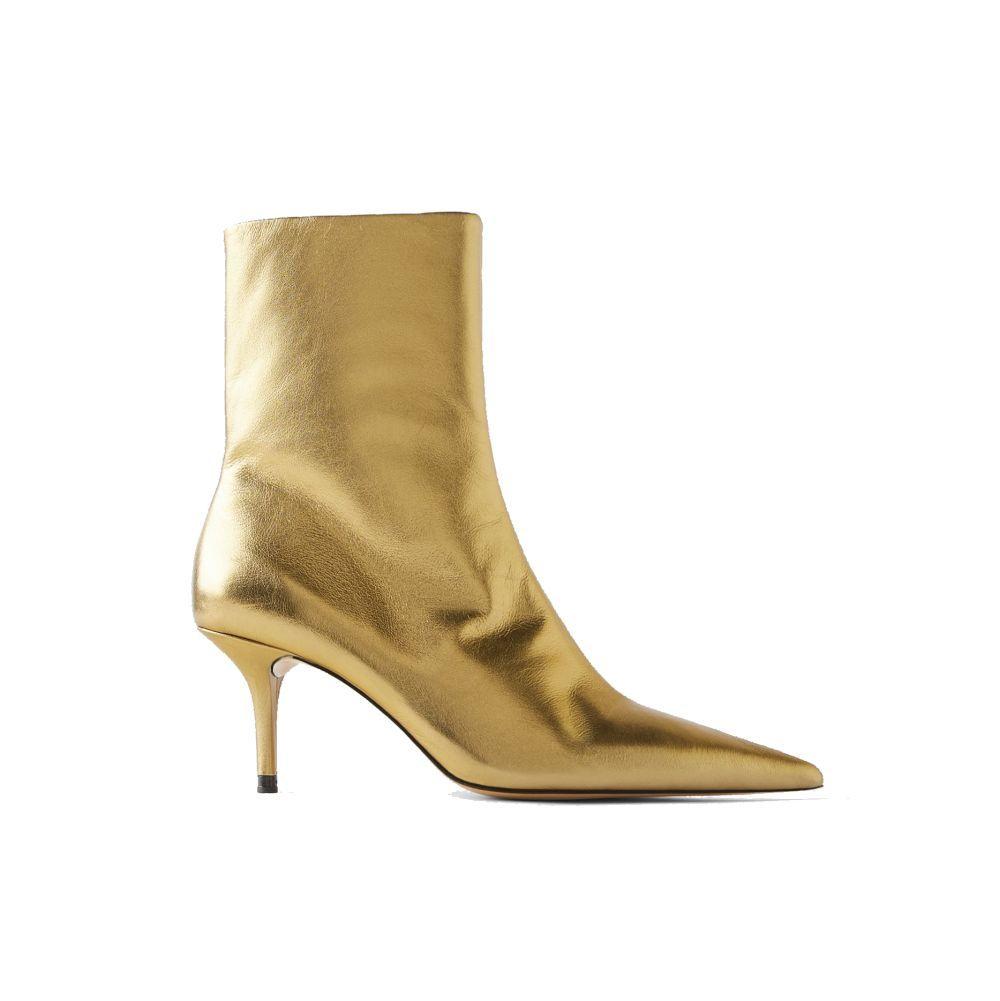 Botas doradas de Zara