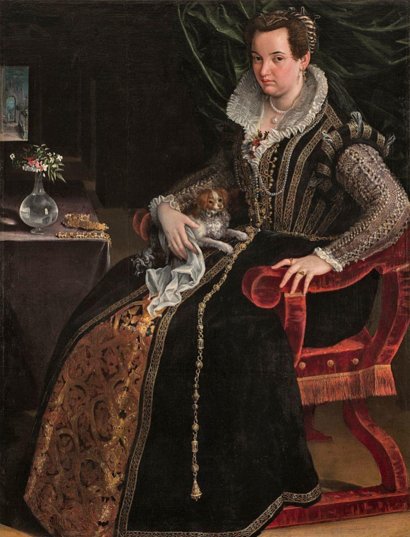 Costanza Alidosi, de Lavinia Fontana, 1595