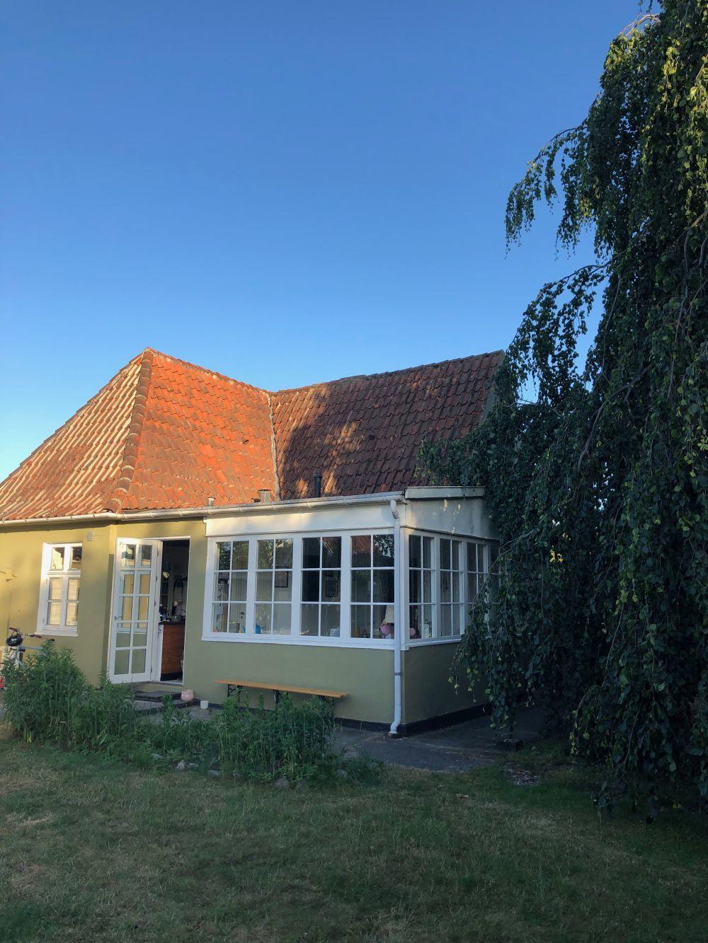 Una imagen de la casa de Mia