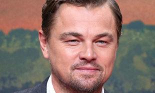 Leonardo Di Caprio en el estreno de Érase una vez en Hollywood