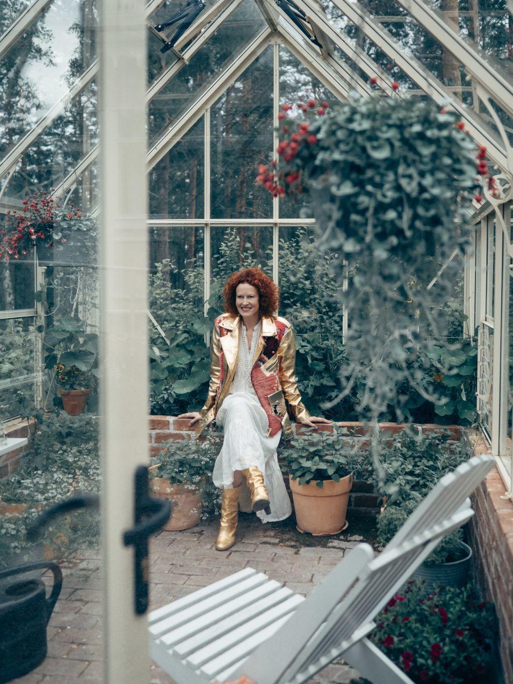 La ex modelo Saimi Hoyer.