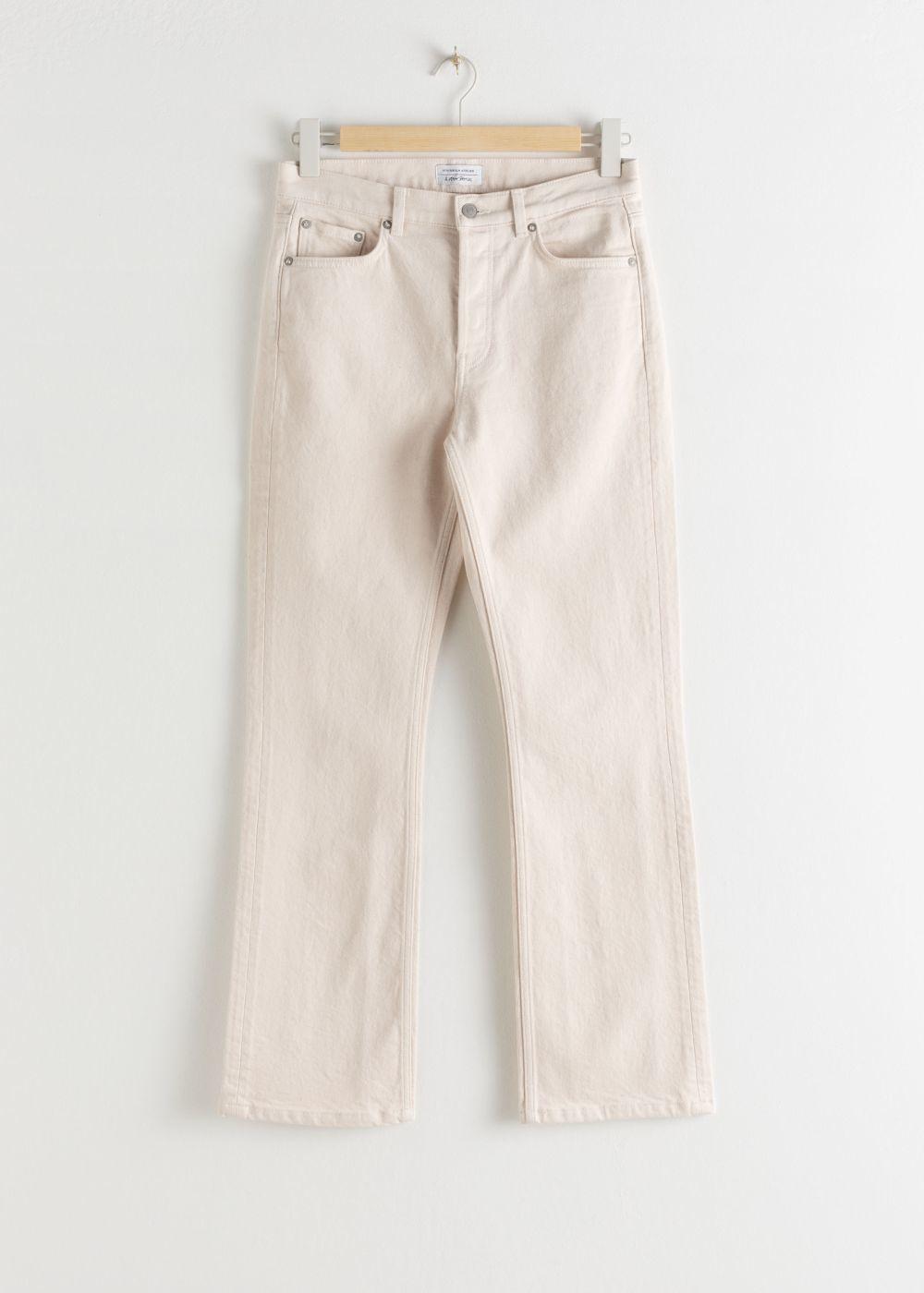 Jeans blancos, de &Other Stories