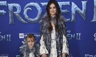 Selena Gomez se viste a dúo con su hermana de princesa de Frozen