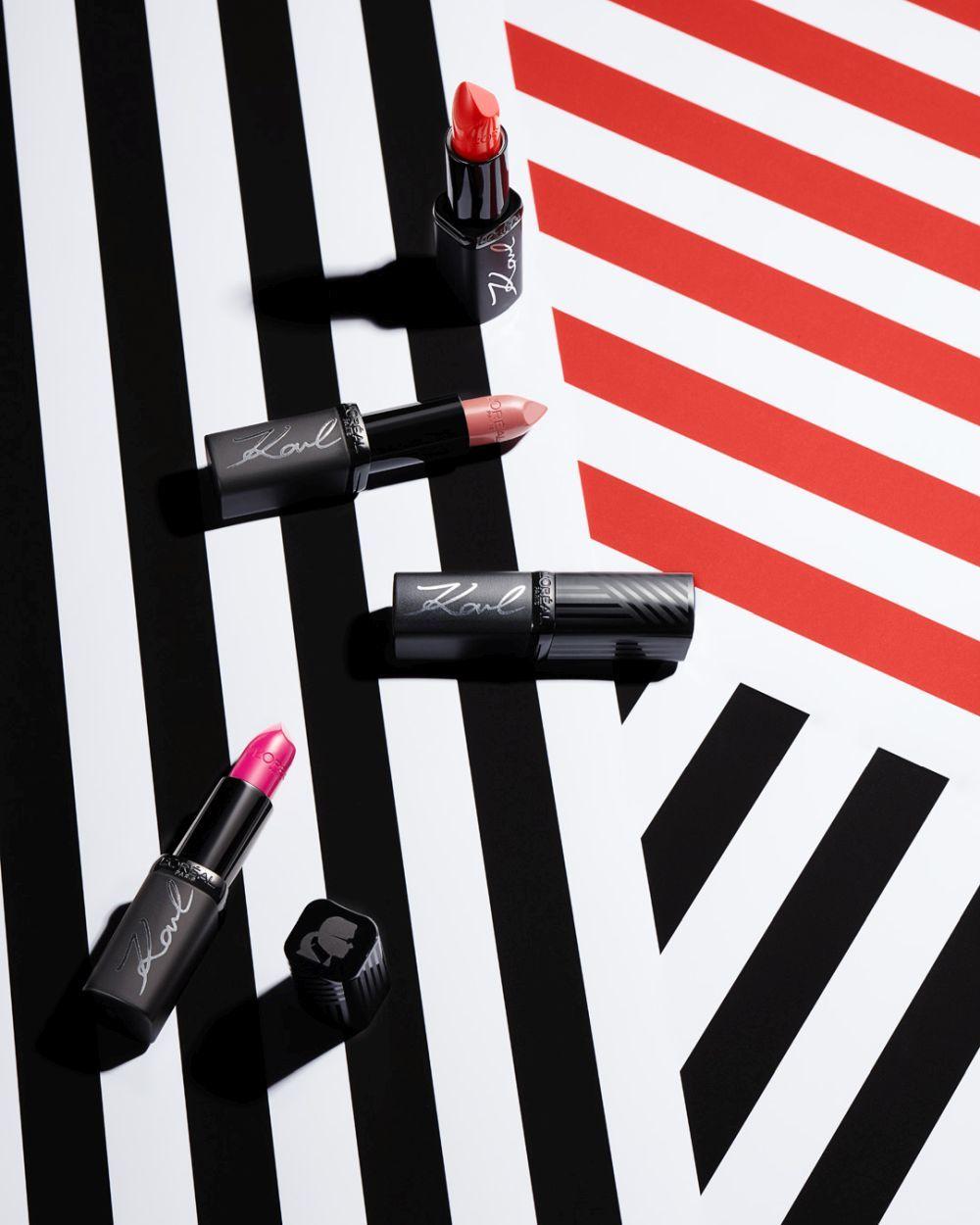 Barras de labios nude, frambuesa y rojas, con tonos básicos para...
