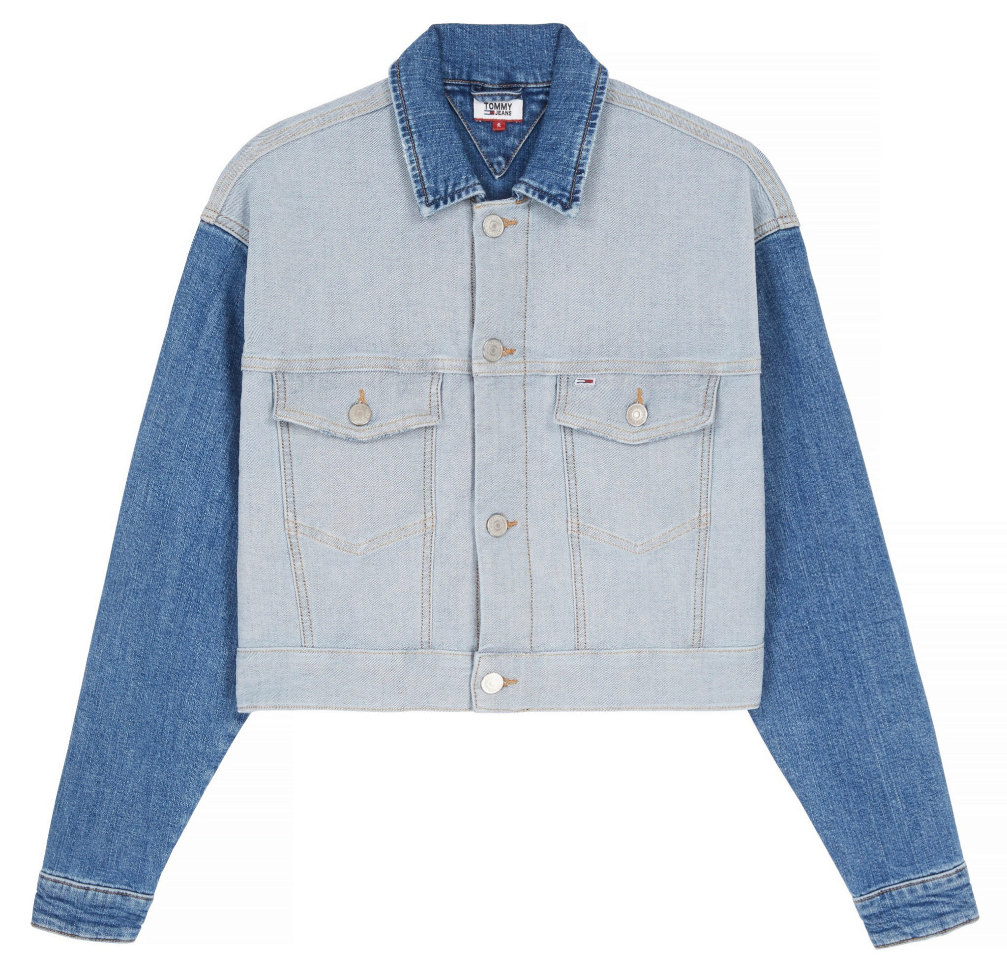 Cazadora con doble denim de Tommy Hilfiger x Amazon