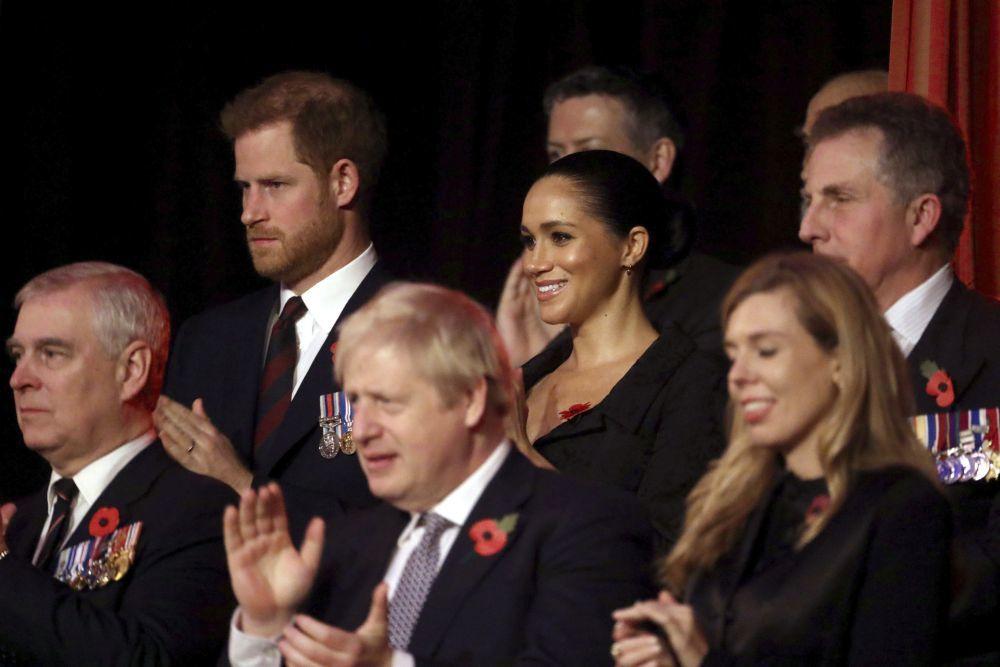 Los duques de Sussex en el Festival del Recuerdo.
